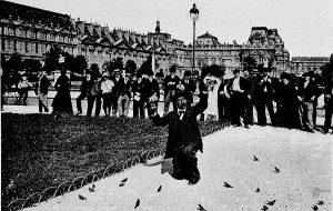 M. Pol au Jardin des Tuileries