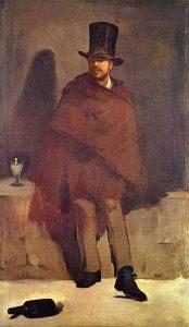 Edouard Manet - Le buveur d'absinthe