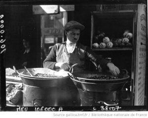 Le marchand de marrons - Agence Meurisse - 1933