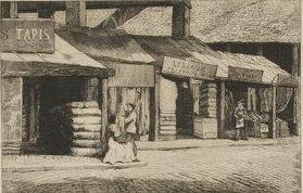 Marché du Temple - 1862