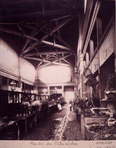 Le marché des Patriarches - Atget - 1898
