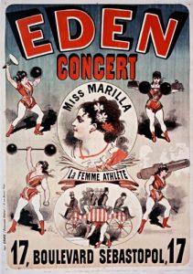 Eden Concert - Miss Marilla, la femme athlète